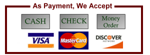 Visa, Master Card, Discover, American Express, Payment Options, Bail Bond Payment Plans